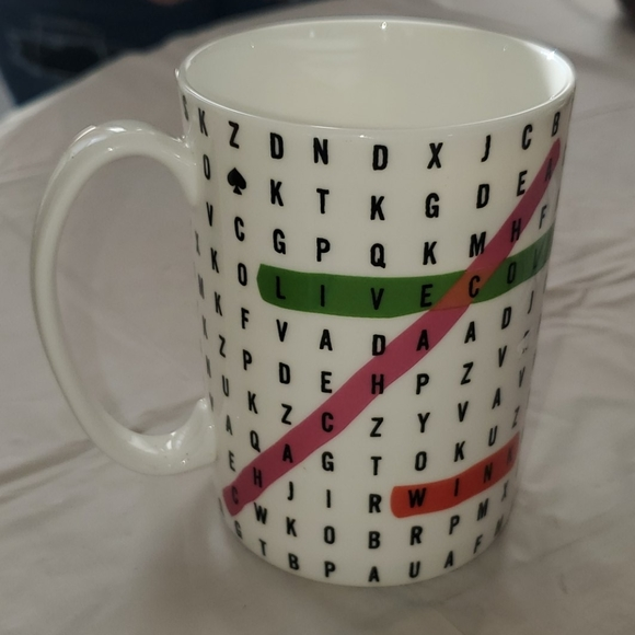 Kate Spade New York Say the Word Lenox Coffee Cup